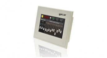Ecler-WPm-Screen-remote-touch-screen-control-panel