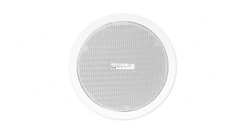 Ecler-in-ceiling-loudspeaker-IC6WH-front-grill-lr