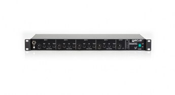 Ecler-sam-412t-rack-mount-multi-zone-mixer-front1