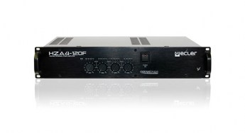 Ecler-HZA4-120f-100V-profesional.power-amplifier-front
