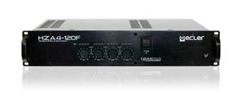 Ecler HZA4 70f 100V profesional.power amplifier front