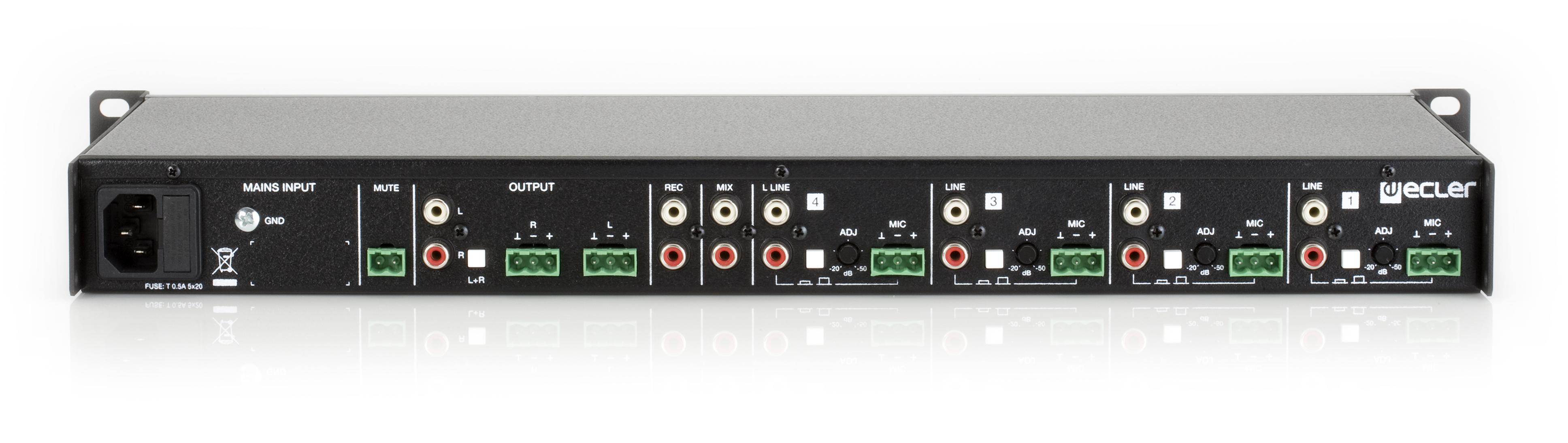 Ecler Sam412t Installation Analogue Mixer