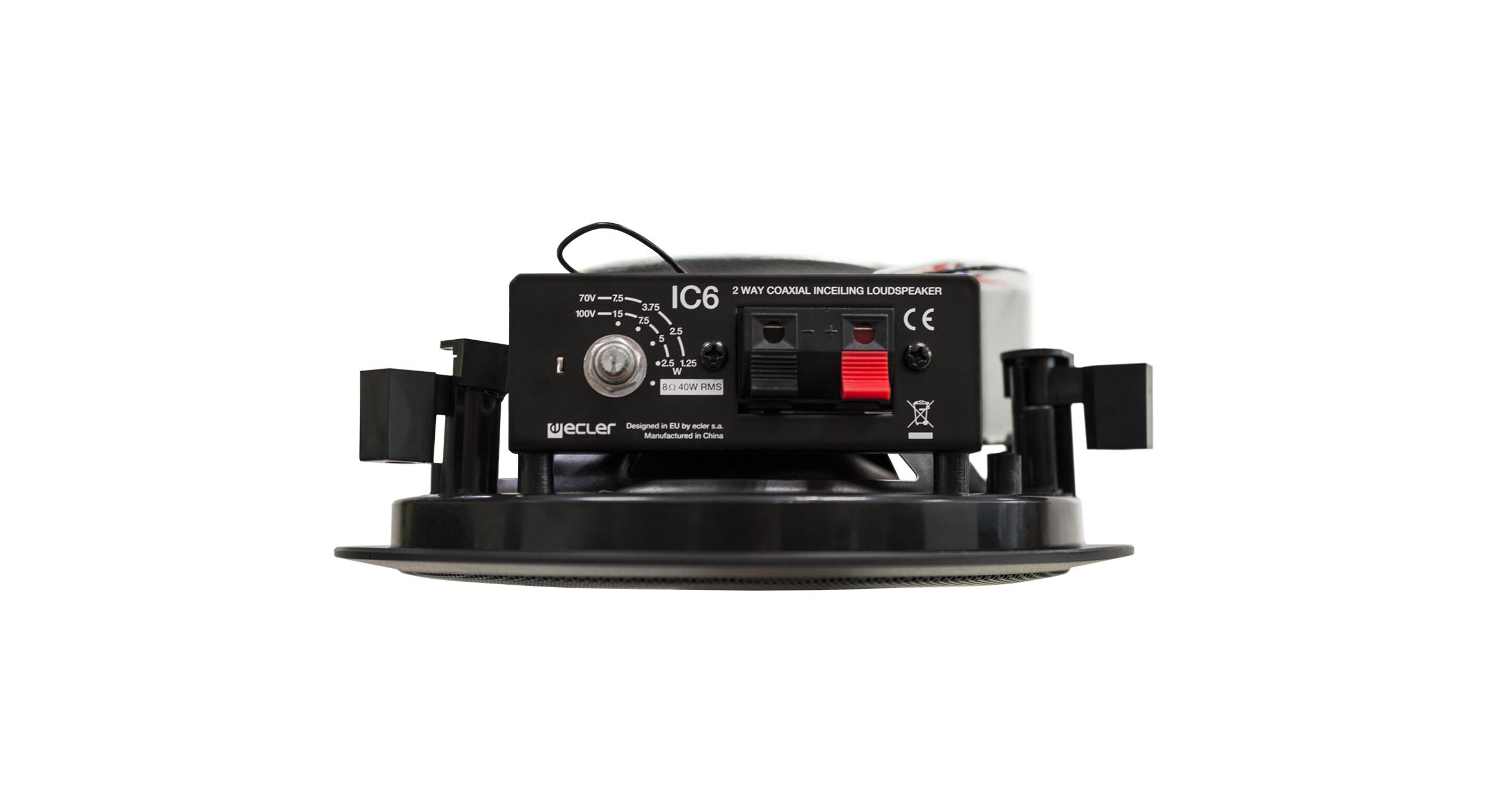 Ecler In Ceiling Loudspeaker Ic Bk Side