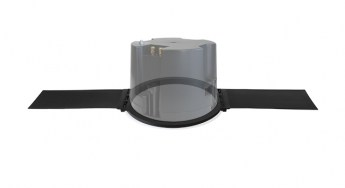 Ecler VIC6X Versatile Ceiling Loudspeaker with Tile Bridge Persp lr