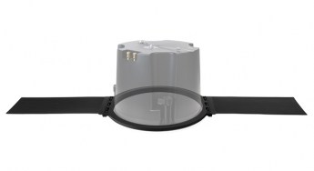 Ecler VIC8X Versatile Ceiling Loudspeaker with Tile Bridge Persp lr