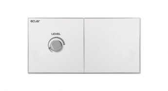 Ecler WPaH-AT100 Remote Wall Panel Control Front lr