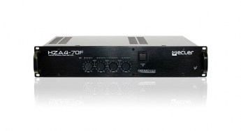 Ecler-HZA4-70f-100V-profesional.power-amplifier-front