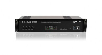 Ecler-NXA4-200-multichannel-self-powered-digital-manager-front