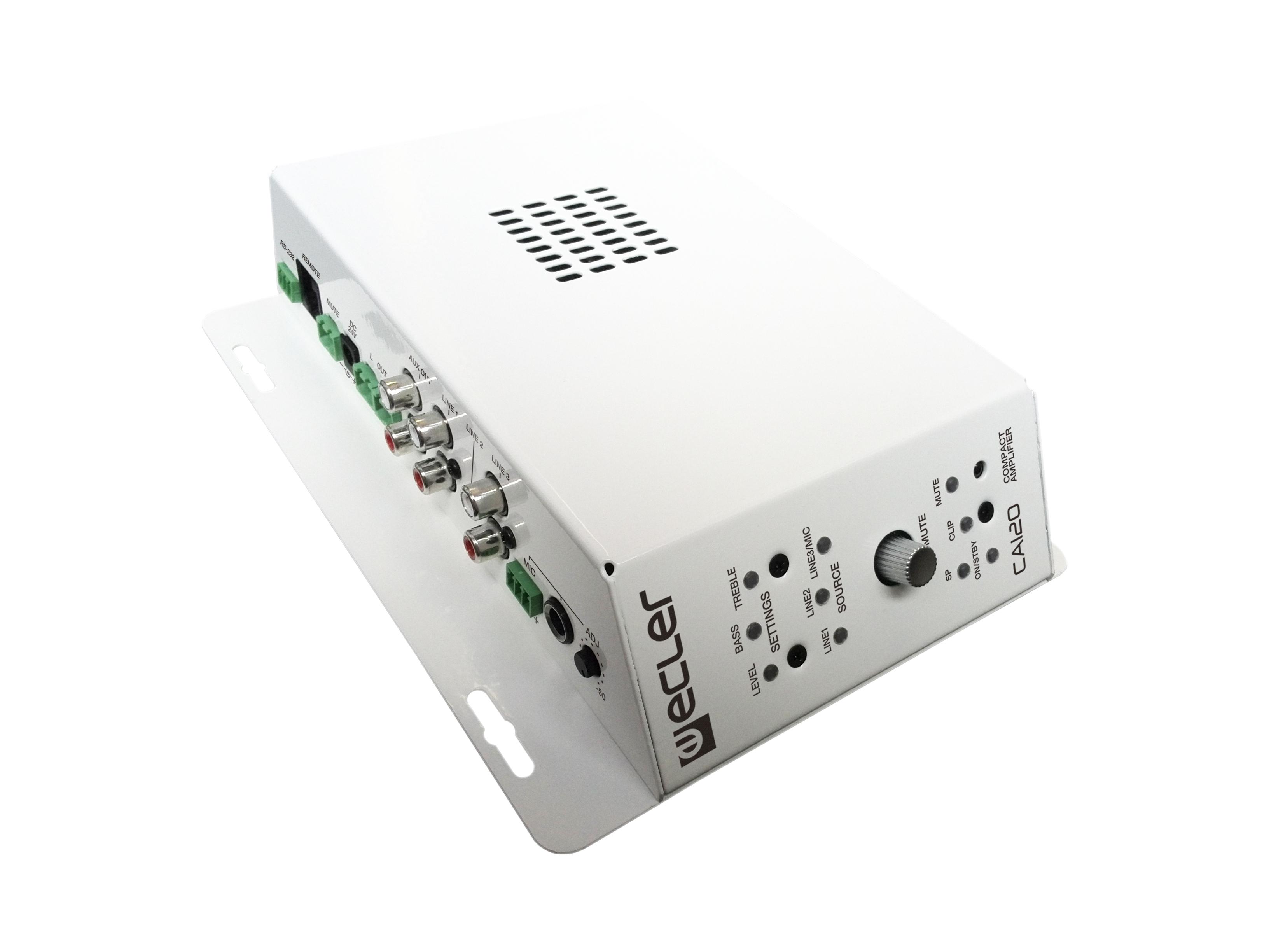 ECLER CA120 - AV Integration Micro-amplifier