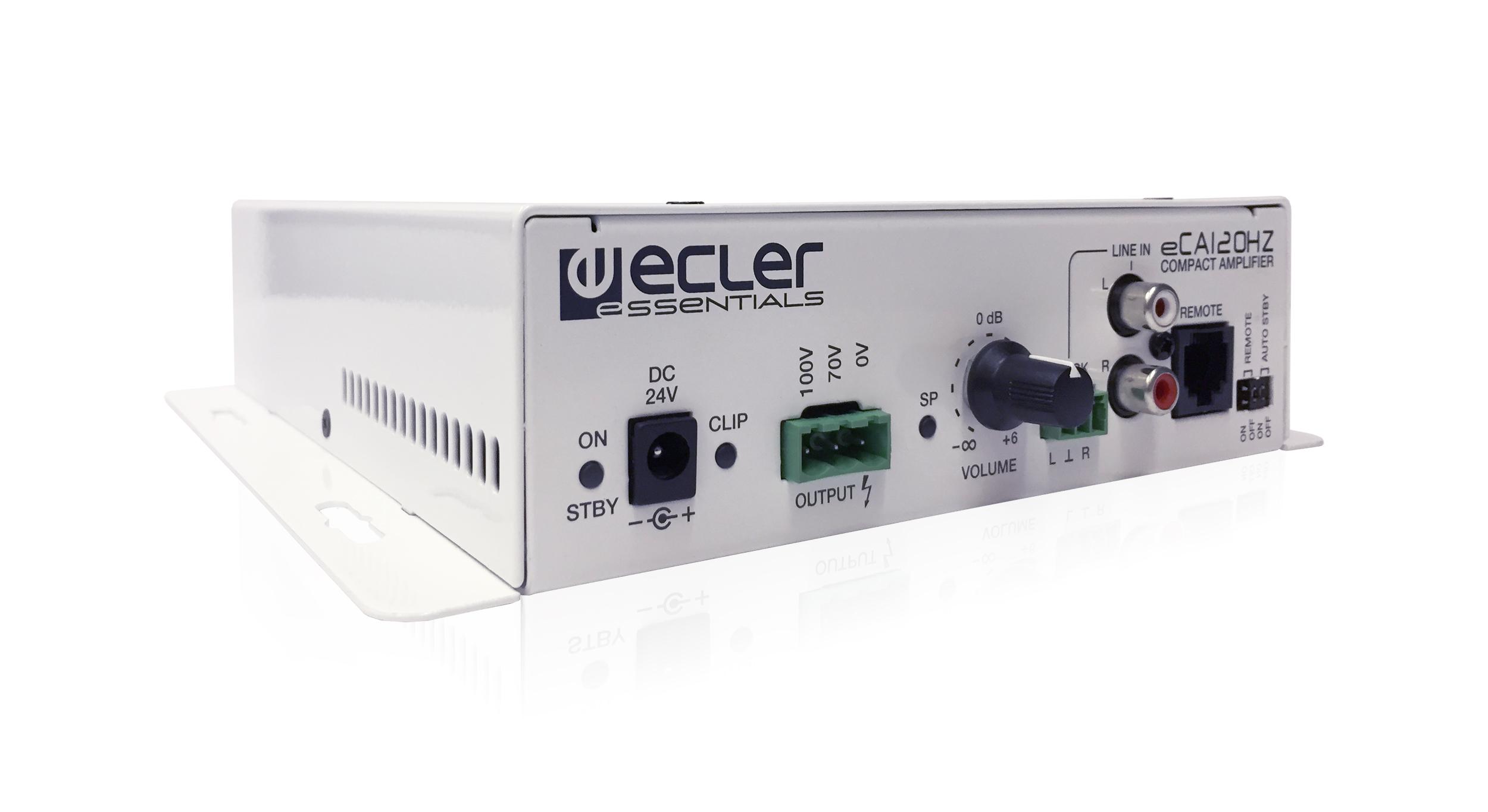 ECLER ESSENTIALS eCA120HZ compact amplifier